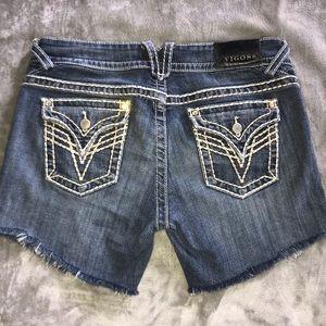 !!! VIGOSS cutoff jean shorts !!!